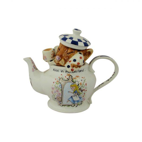 Alice in Wonderland Dormouse Teapot Paul Cardew