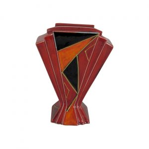 Eclipse Design One Fan Vase Anita Harris Art Pottery