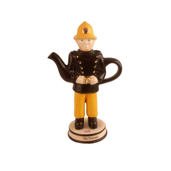 Fireman Collectable Teapot by Carters of Suffolk