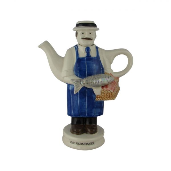 Fish Monger Collectable Teapot Carters of Suffolk