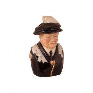 Winston Churchill Toby Jug Order of the Garter