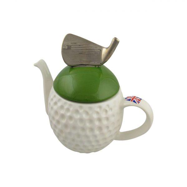 Golf Ball Teapot by Carters of Suffolk