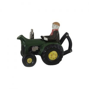 Farm Tractor Collectable Teapot Green Colour Carters of Suffolk