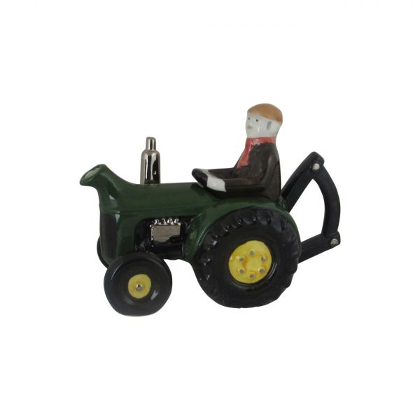 Farm Tractor Collectable Teapot Green Colour Carters of Suffolk