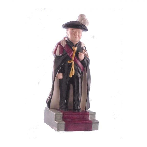 Winston Churchill Figure Knight of the Garter