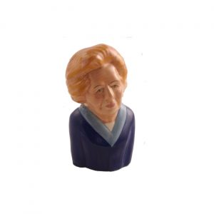 Margaret Thatcher Toby Jug Blue Jacket Colourway