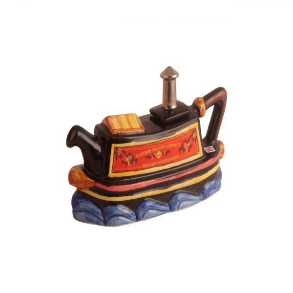 Canal Boat Collectable Novelty Teapot Carters of Suffolk