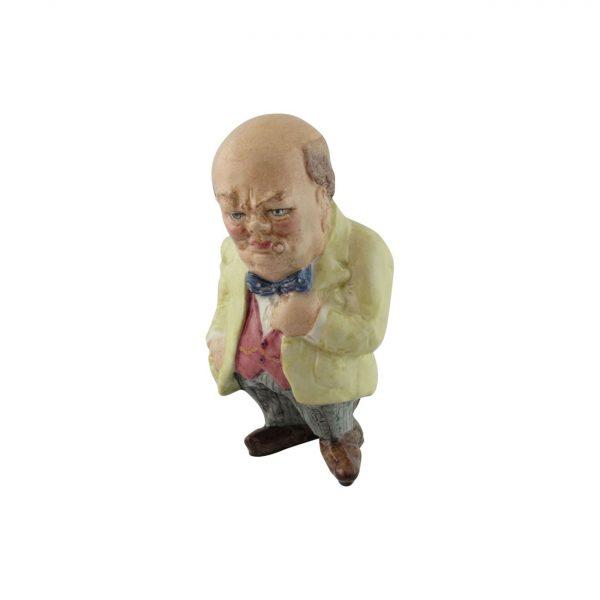 Winston Churchill Figure The Last Battle Bairstow Pottery