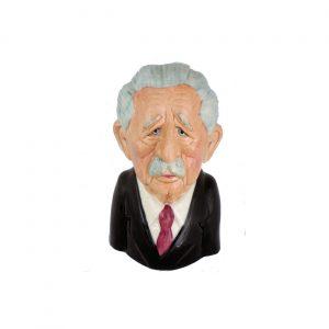 Harold MacMillan Toby Jug by Bairstow Pottery