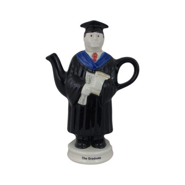 Novelty Collectable Male Graduate Teapot Carters of Suffolk