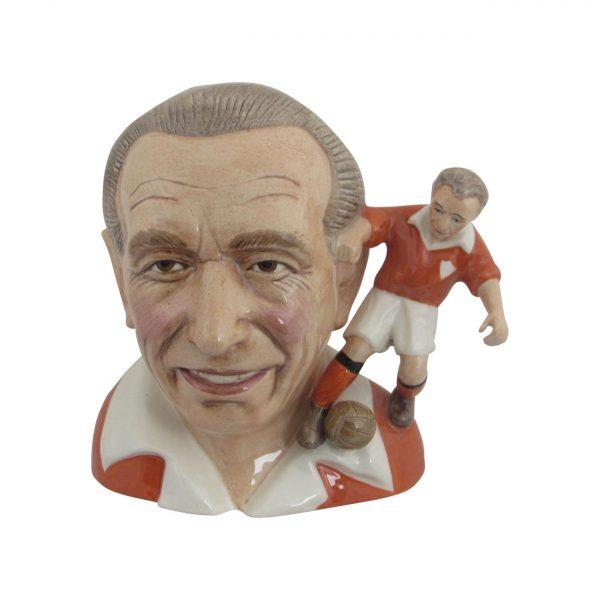 Stanley Matthews Character Jug Bairstow Pottery
