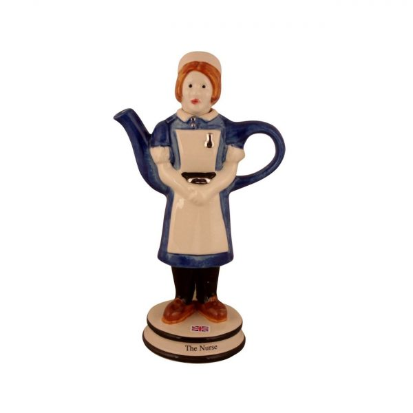 Nurse Collectable Novelty Teapot by Carters of Suffolk