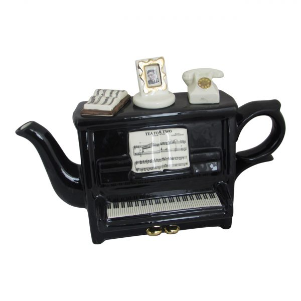 Novelty Collectable Piano Shaped Teapot Carters of Suffolk