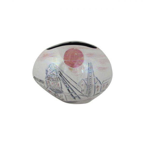 Pit Head Lustre Design Vase Anita Harris Art Pottery