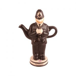 Policeman Teapot Produced by Carters of Suffolk
