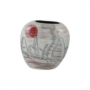 Potteries Lustre Design Vase Anita Harris Art Pottery