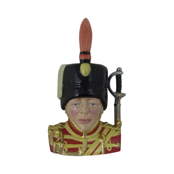Winston Churchill Hussars 1895 Regiment Toby Jug