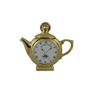 Alice in Wonderland Pocket Watch Novelty Teapot