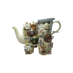 Teapottery Teapot Stall Novelty Teapot Paul Cardew Designs