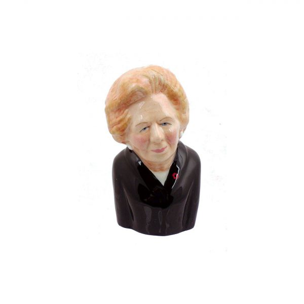 Margaret Thatcher Toby Jug Black Jacket Colour way