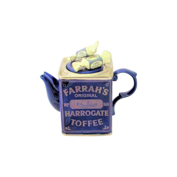 Farrah's Harrogate Toffee Tin Novelty Teapot