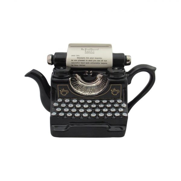 Typewriter Collectable Novelty Teapot Carters of Suffolk