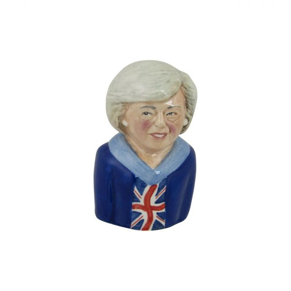 Theresa May Toby Jug Union Flag Special Edition Bairstow Pottery