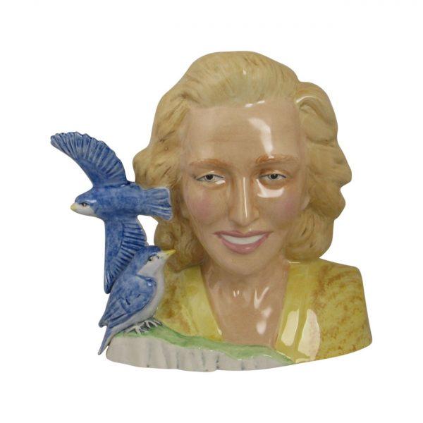 Vera Lynn Character Jug Bairstow Pottery