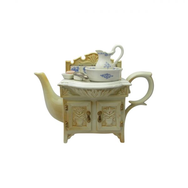 Victorian Wash Stand Novelty Teapot by Paul Cardew