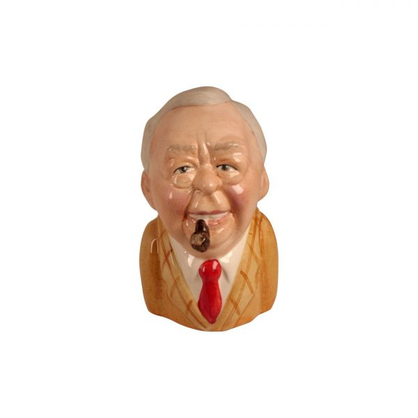 Harold Wilson Toby Jug by Bairstow Pottery