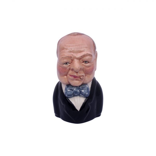 Winston Churchill Toby Jug Series 1 by Bairstow Pottery
