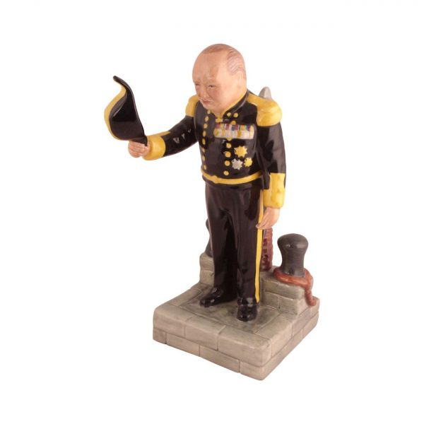 Winston Churchill Figure Lord Warden of the Cinque Port