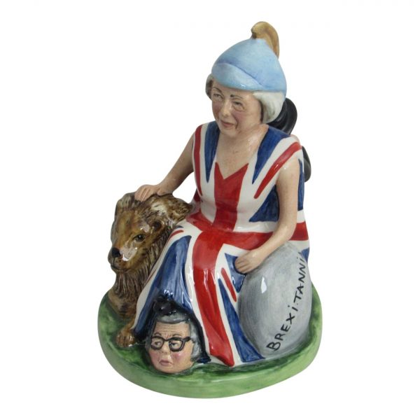 Bairstow Pottery Theresa May Brexitannia Figure
