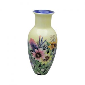 Summer Bouquet Design Vase Old Tupton Ware