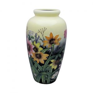 Summer Bouquet Design Extra Tall Vase Old Tupton Ware