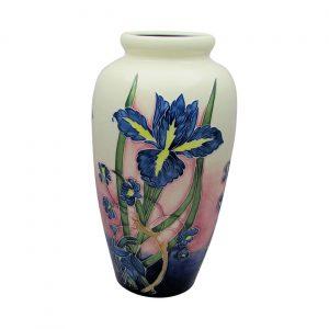 Iris Design Extra Tall Vase Old Tupton Ware