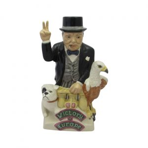 Kevin Francis Ceramics Churchill 50th Anniversary of VE Day Figure