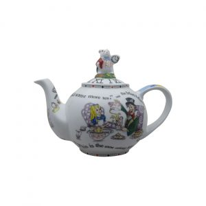 Alice in Wonderland White Rabbit Two Cup Teapot Paul Cardew