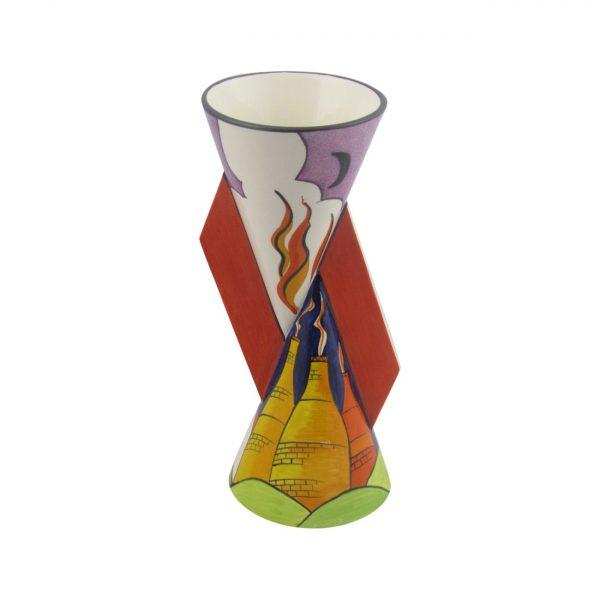 23cm YoYo Vase Art Deco Style Design Carlton