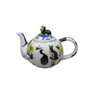 Cat Tea Two Cup Teapot Paul Cardew