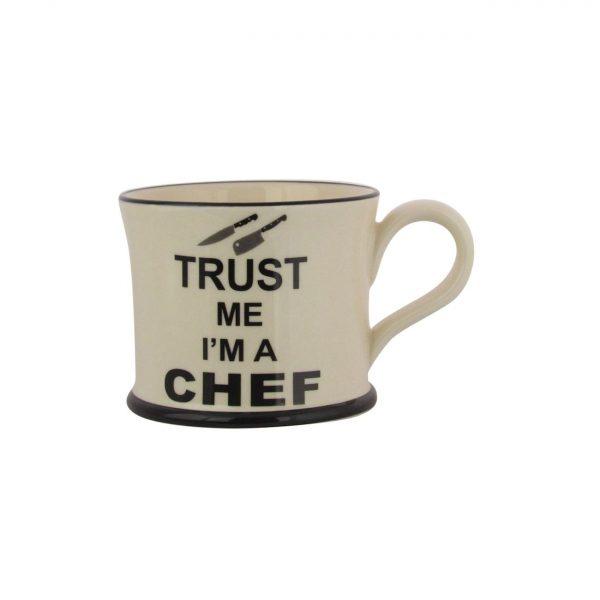 Moorland Pottery Mug Trust Me I'm A Chef