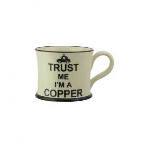 Moorland Pottery Mug Trust Me I'm A Copper