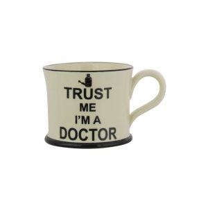 Moorland Pottery Trust Me Mug I'm A Doctor