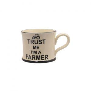 Moorland Pottery Mug Trust Me I'm A Farmer