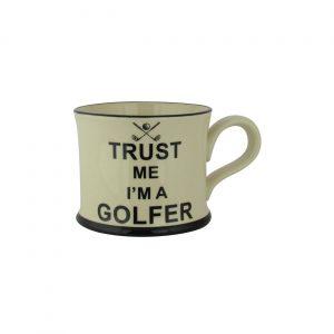 Moorland Pottery Mug Trust Me I'm A Golfer