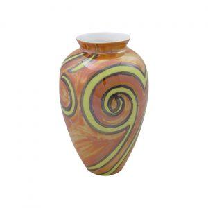 Infinity Lustre Glaze Design Vase by Emma Bailey