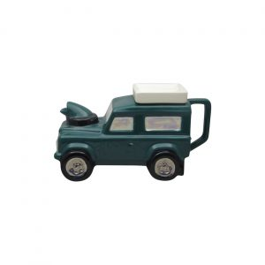 Land Rover Teapot Green Colourway Ceramic Inspirations