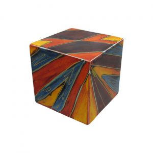 Decorative Cube Lightning Design Anita Harris Art Pottery