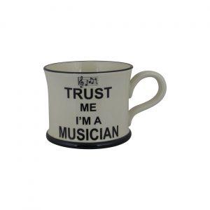 Moorland Pottery Mug Trust Me I'm A Musician