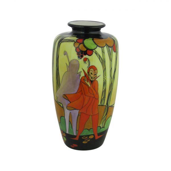 21cm Ceramic Art Vase The Mephisto Design